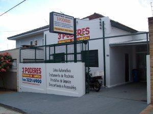PRODUTOS DE LIMPEZA 3 PODERES
